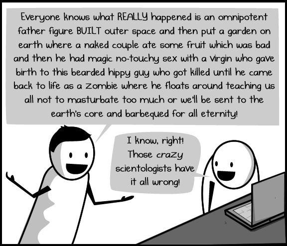 crazy religions