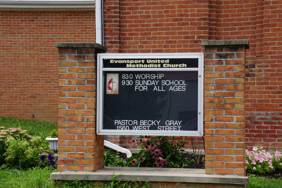 evansport united methodist church evansport ohio