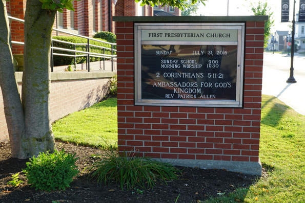 first presbyterian church ada