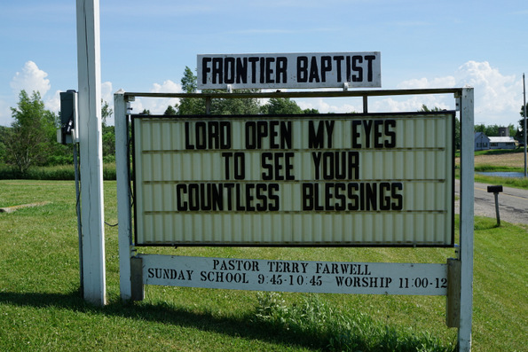 frontier baptist church frontier michigan