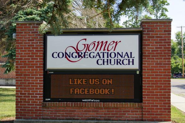 gomer congregational church gomer
