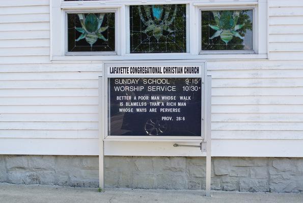 lafayette congregational christian church