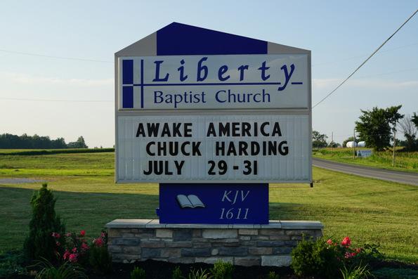 liberty baptist church ada