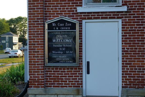 mt cory united methodist church
