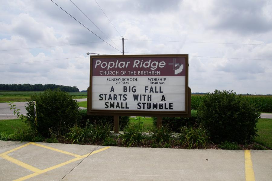 poplar ridge church of the brethren defiance ohio