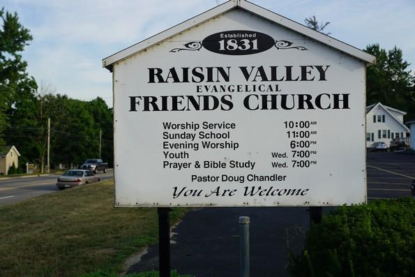 raisin valley evangelical friends church adrian michigan