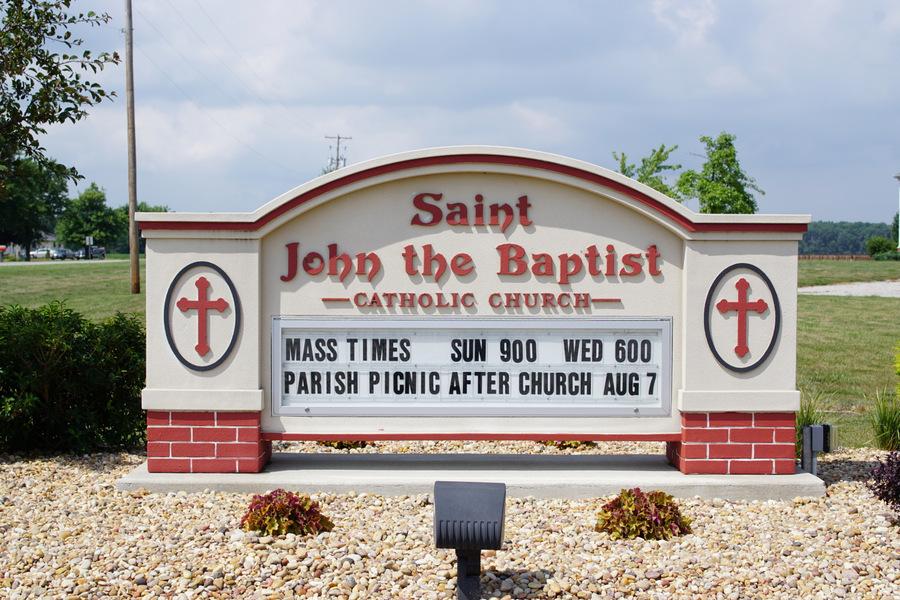 saint john the baptist catholic church continental