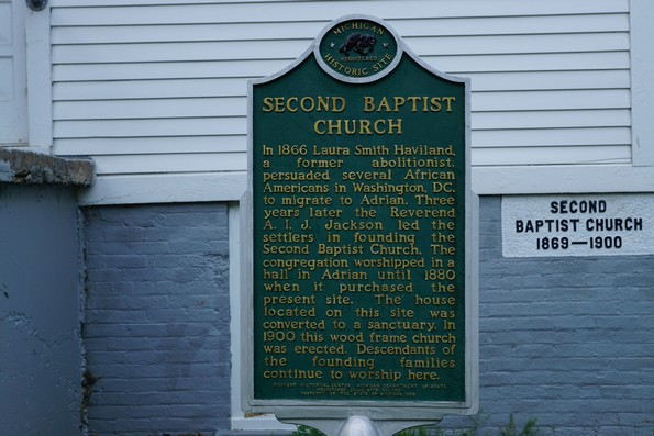 second baptist church adrian michigan