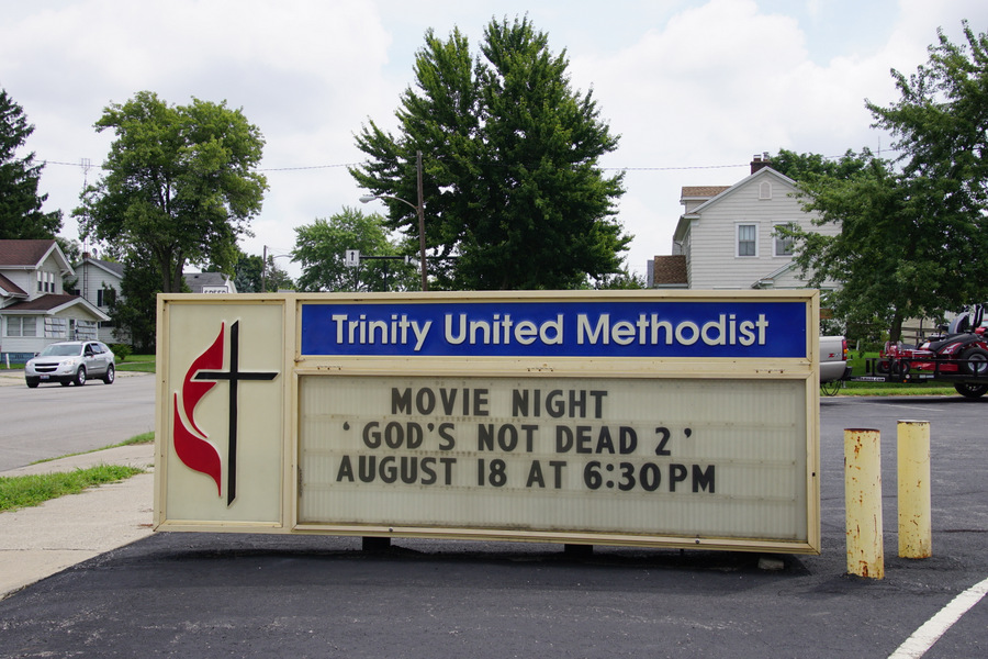 trinity united methodist church defiance ohio