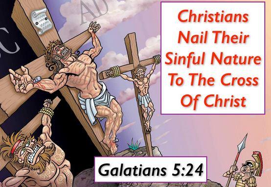 crucifying the flesh