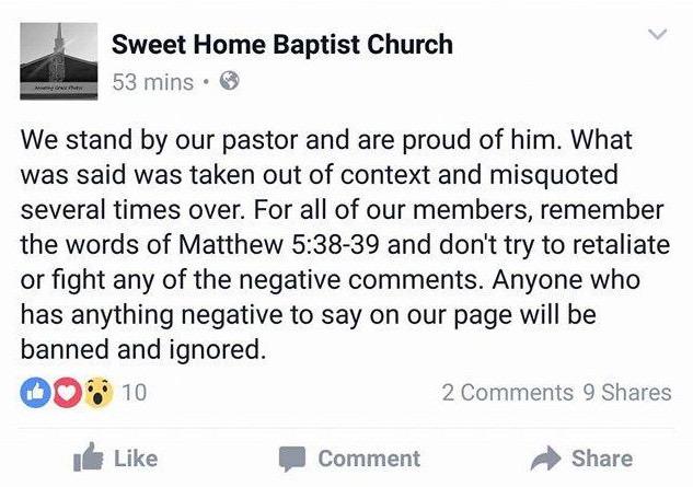 sweet home baptist church mckenzie alabama