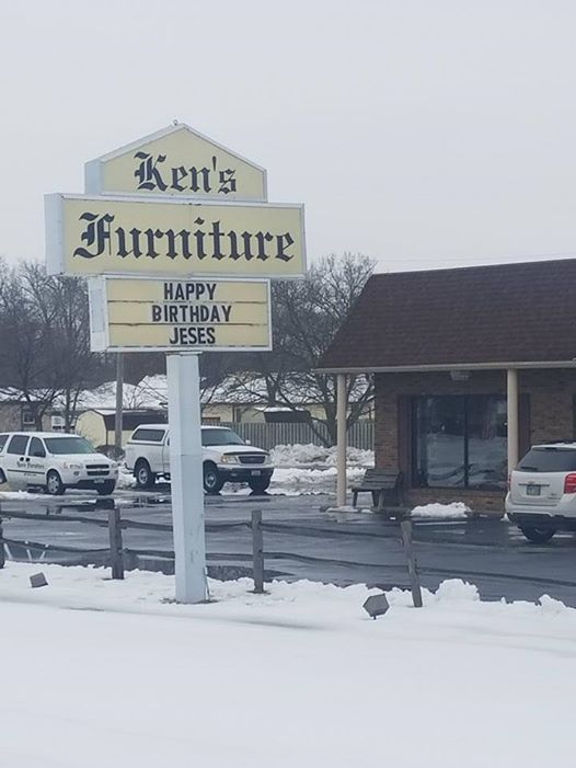 Ken S Furniture Says Hy Birthday To The Life And