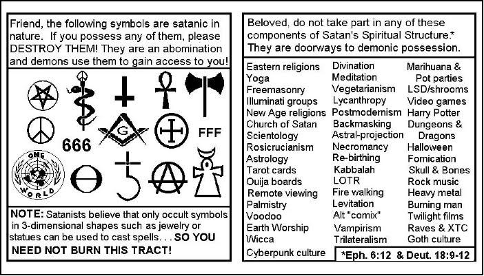 yoga is satanic