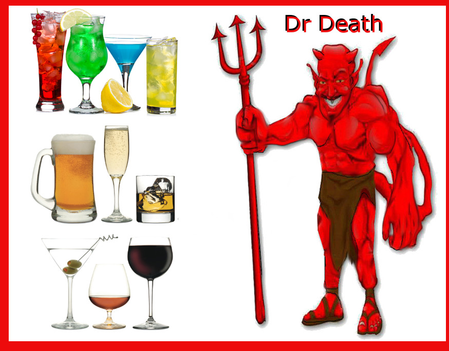 devil and alcohol