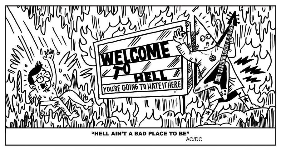 jack chick goes to heaven