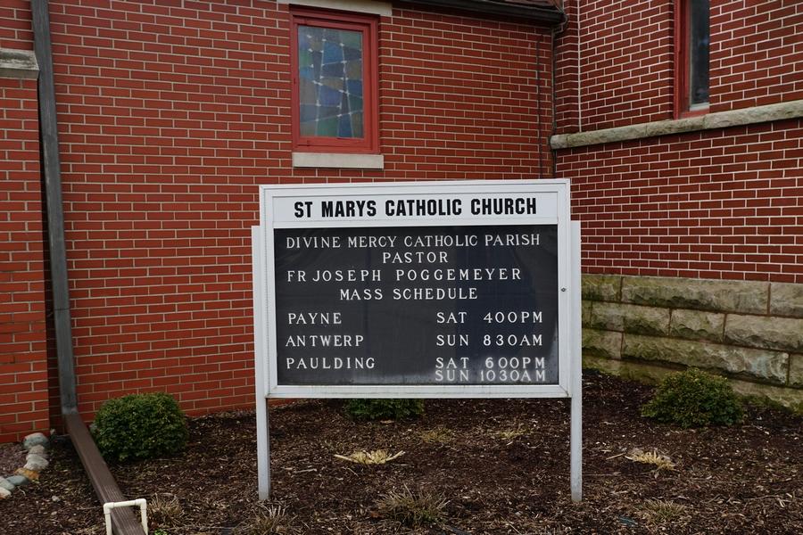 st marys catholic church antwerp ohio