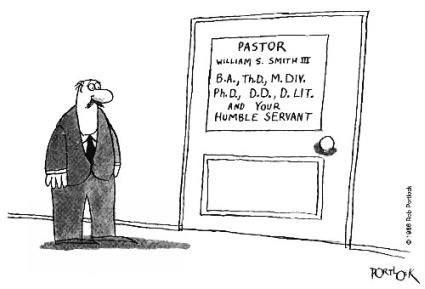 humble pastor