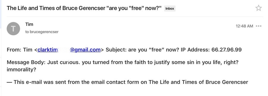 email from tim clark