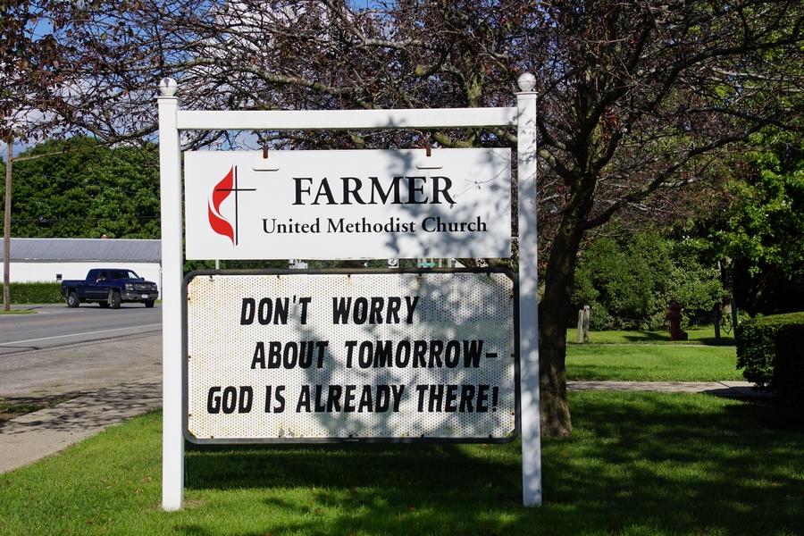 farmer united methodist church farmer ohio