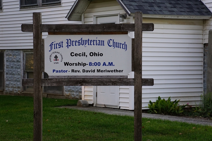 first presbyterian church cecil ohio