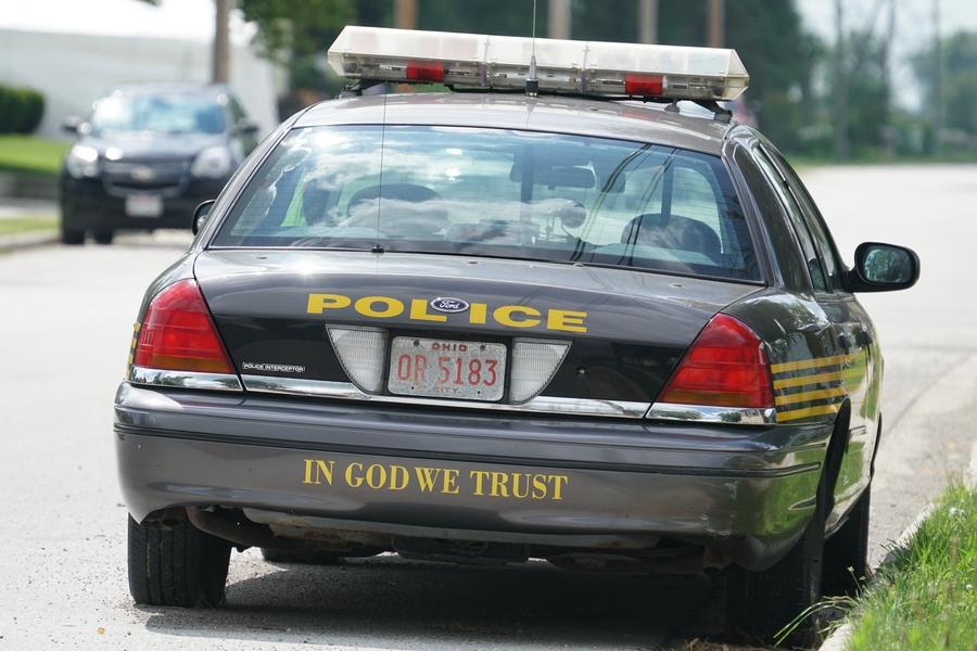 in god we trust scott ohio police car 2017