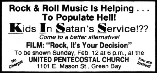 rock its your decision ad