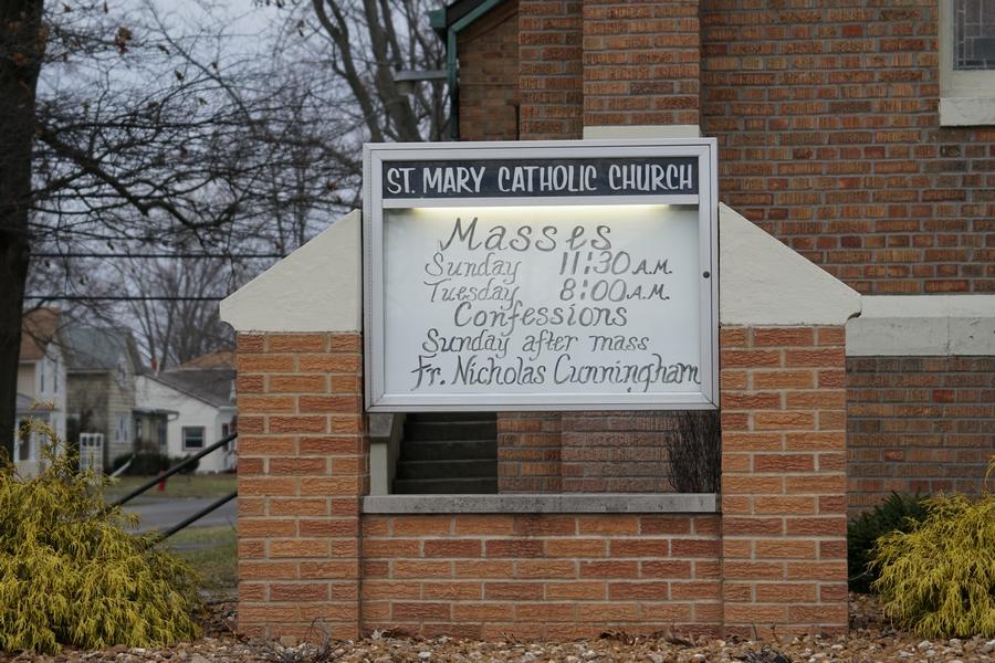 st mary catholic church holgate ohio