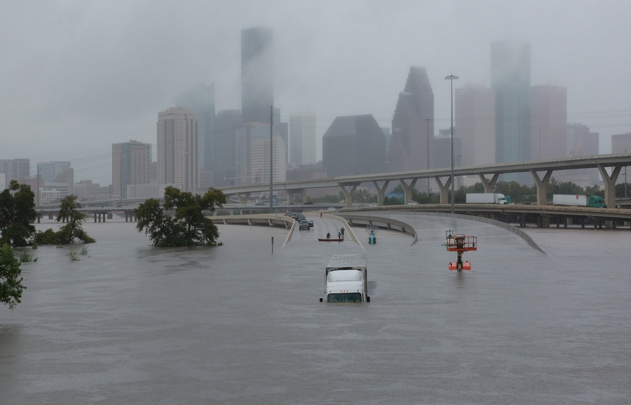 houston texas hurricane harvey