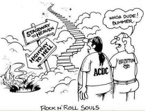 rock n roll heaven and hell