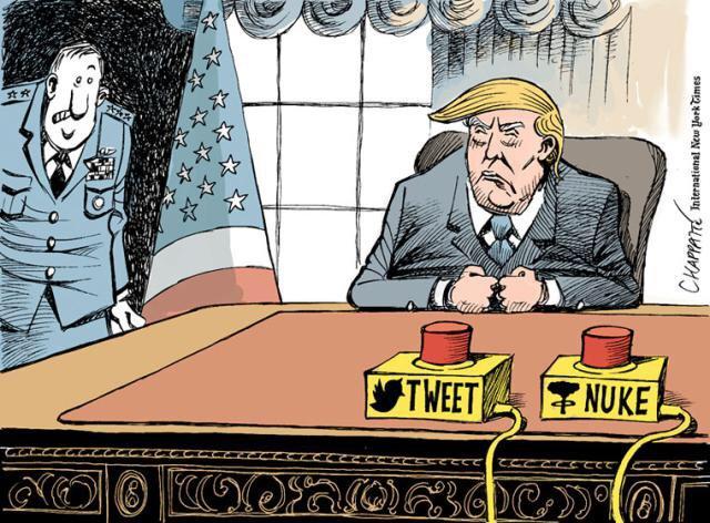 trump nuke or tweet