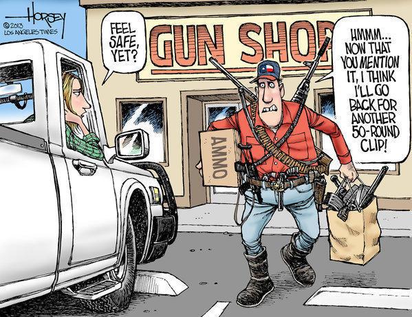 buying more guns