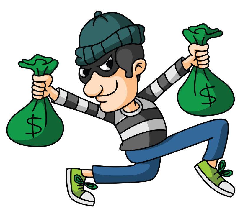 theft cartoon
