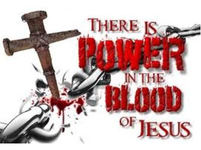 there's power in the blood of jesus