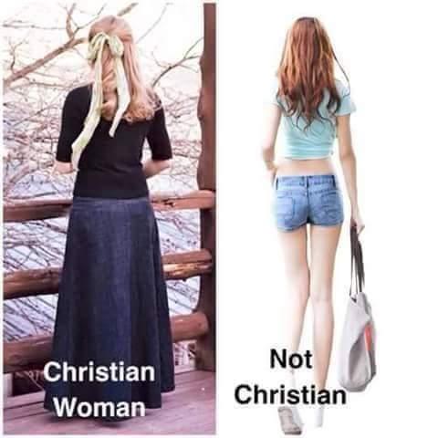 how christian women dress