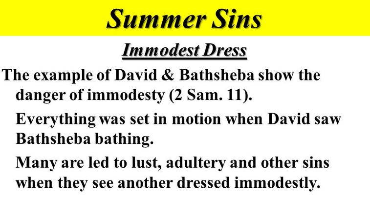 immodesty 3
