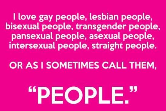 love gay people