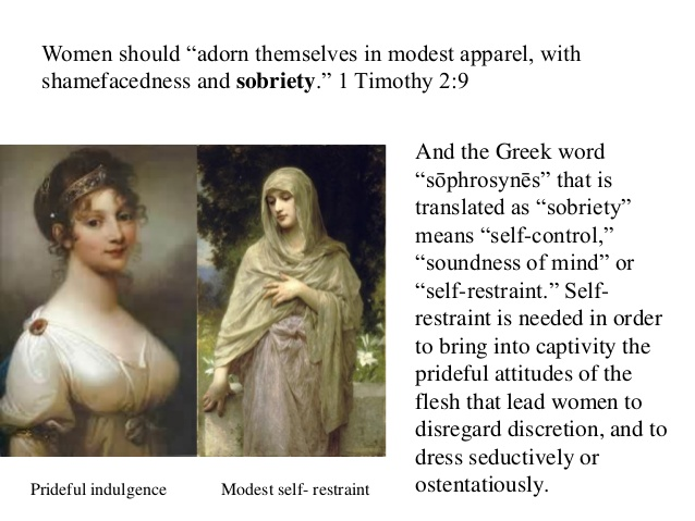 modesty 2