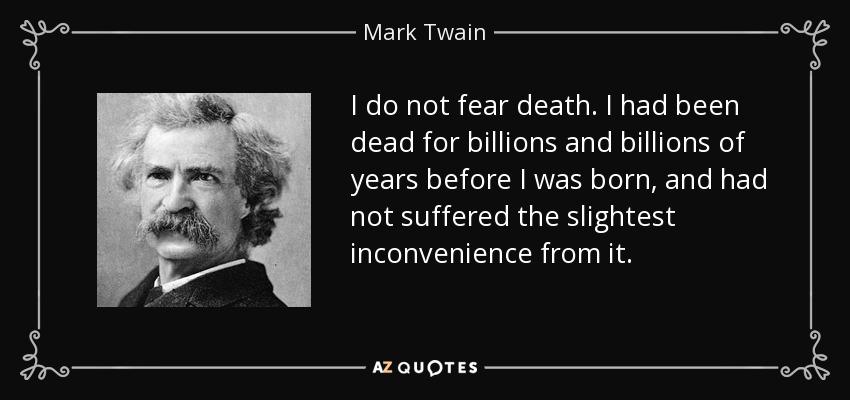 mark twain death