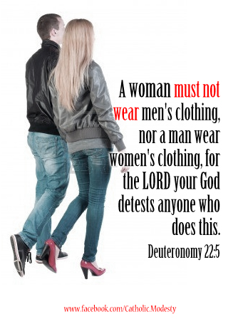 women wearing mens clothing