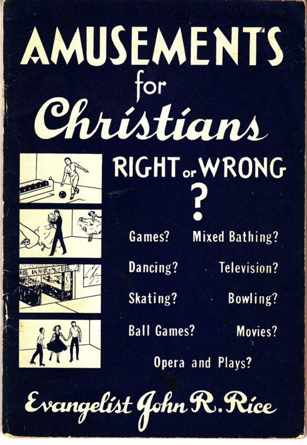 amusements for christians john r rice