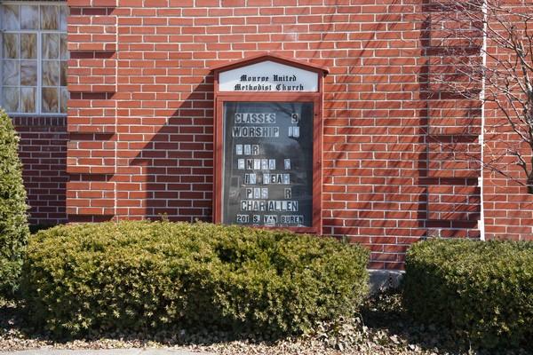 monroe united methodist church monroe indiana 2