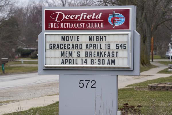 deerfield free methodist church deerfield michigan
