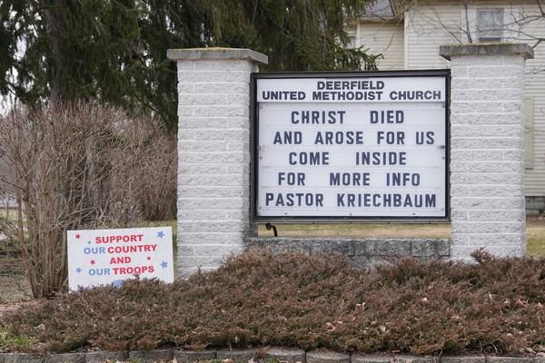 deerfield united methodist church deerfield michigan