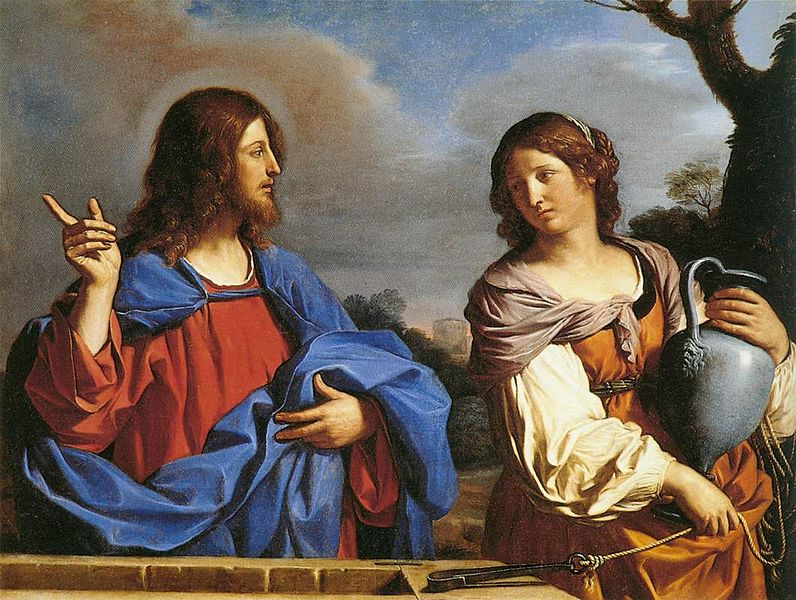 jesus alone with a woman