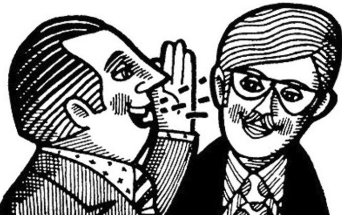 men gossip