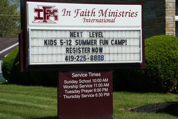 in faith ministries international lima ohio