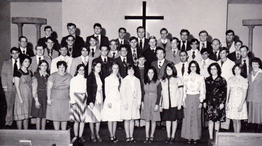midwestern baptist college freshman class 1976