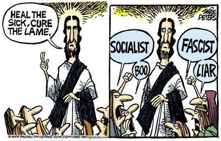 jesus is a socialist