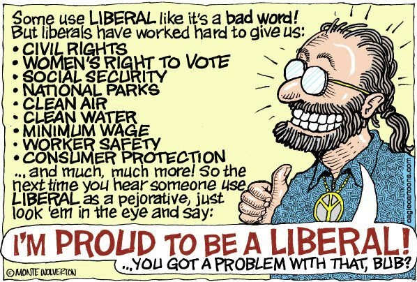 proud to be a liberal