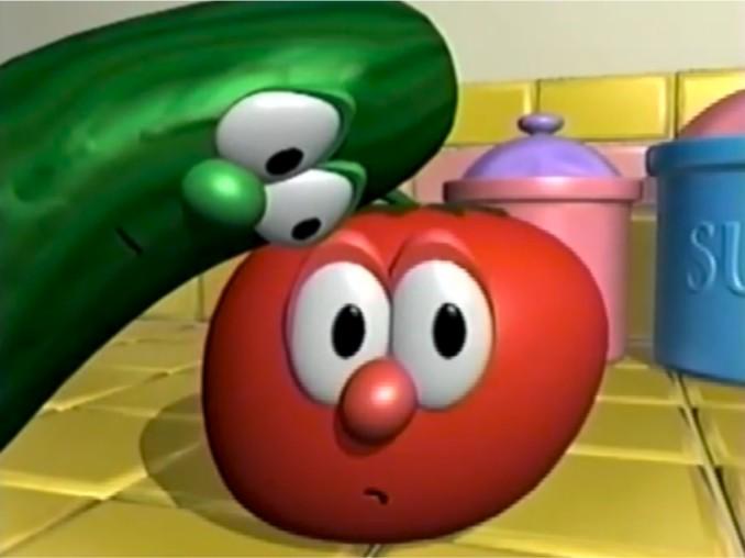 larry and bob veggietales